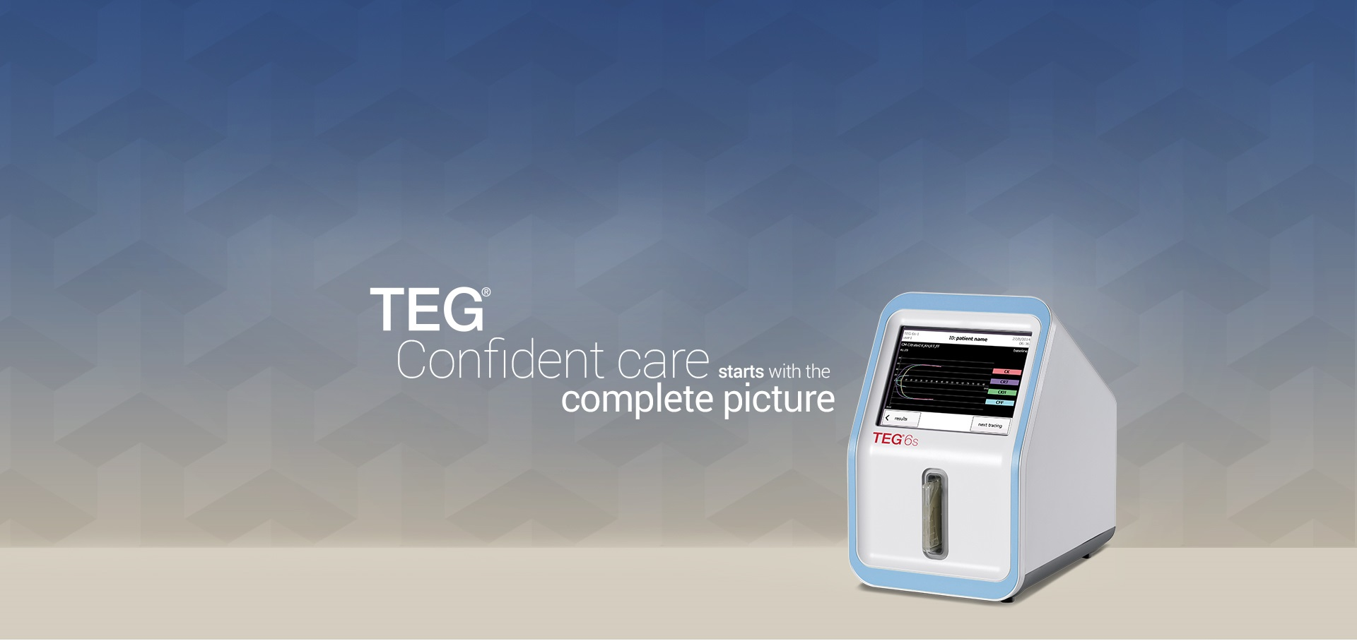 TEG: Confident care starts with the complete picture
