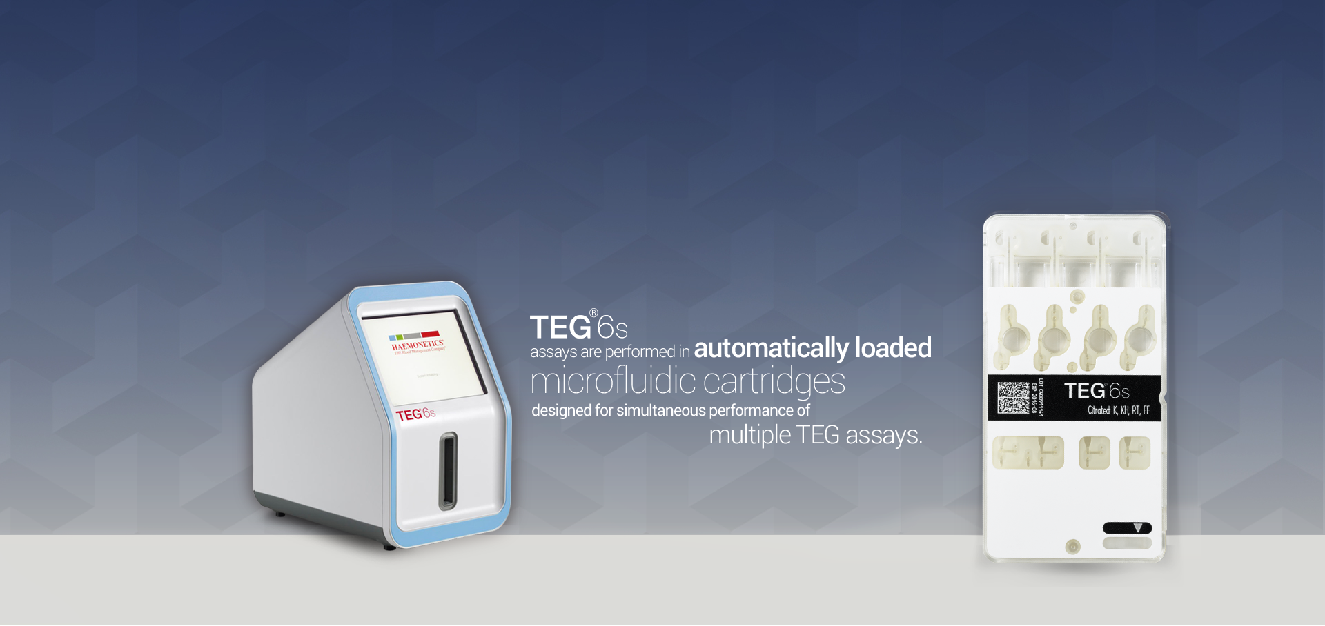 TEG 6s Hemostasis Analyzer